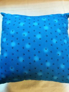 This delightful cushion cover features a cute, small paw print. Match it with any of the other three prints of the Love Happy Collection to perk up any room